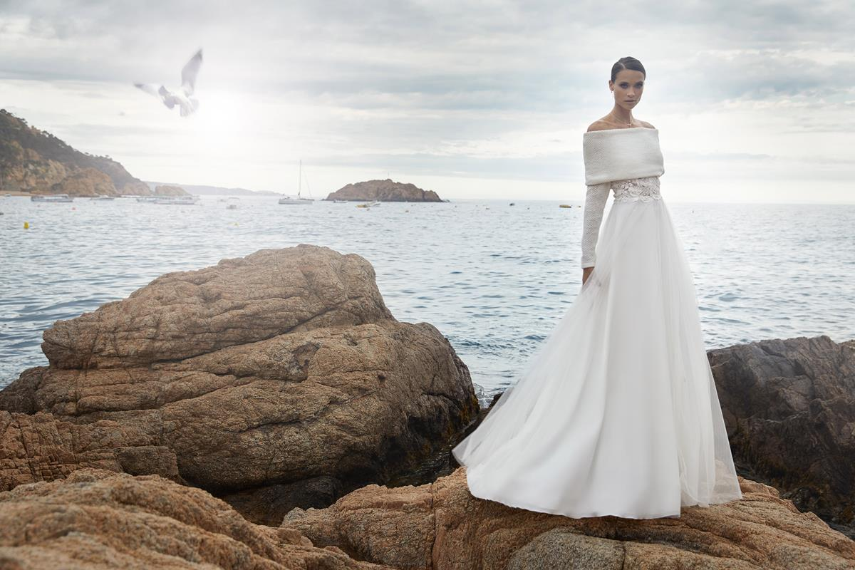 Brautmoden Balz- Bianco_Evento_bolero-E290